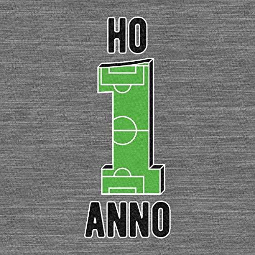 Anno Lunga Calcio Regalo Ho Neonato Shirtgeil Da Campo Bianco Body Di Compleanno Festa 1 Manica OpqcwwHE