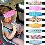 Child Car Safety,ZQUS,Sleep Artifact Child Safety, Seat Head Fixing Auxiliary Cotton Belt Pram Secure Strap Doze Band for Baby Pram Child Safety Seat,Random Color (1 PCS)