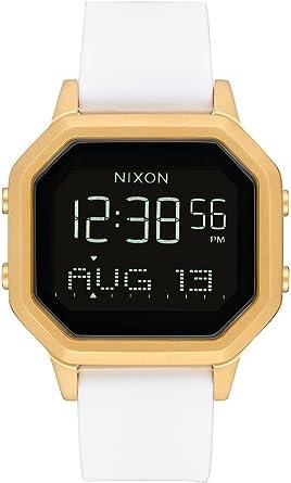 Nixon Siren SS A1211508 - Reloj digital para mujer con caja dorada ...