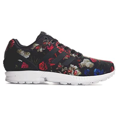 ab3b3f5285b3 adidas Womens Originals Womens ZX Flux Trainers in Black - UK 6.5 ...