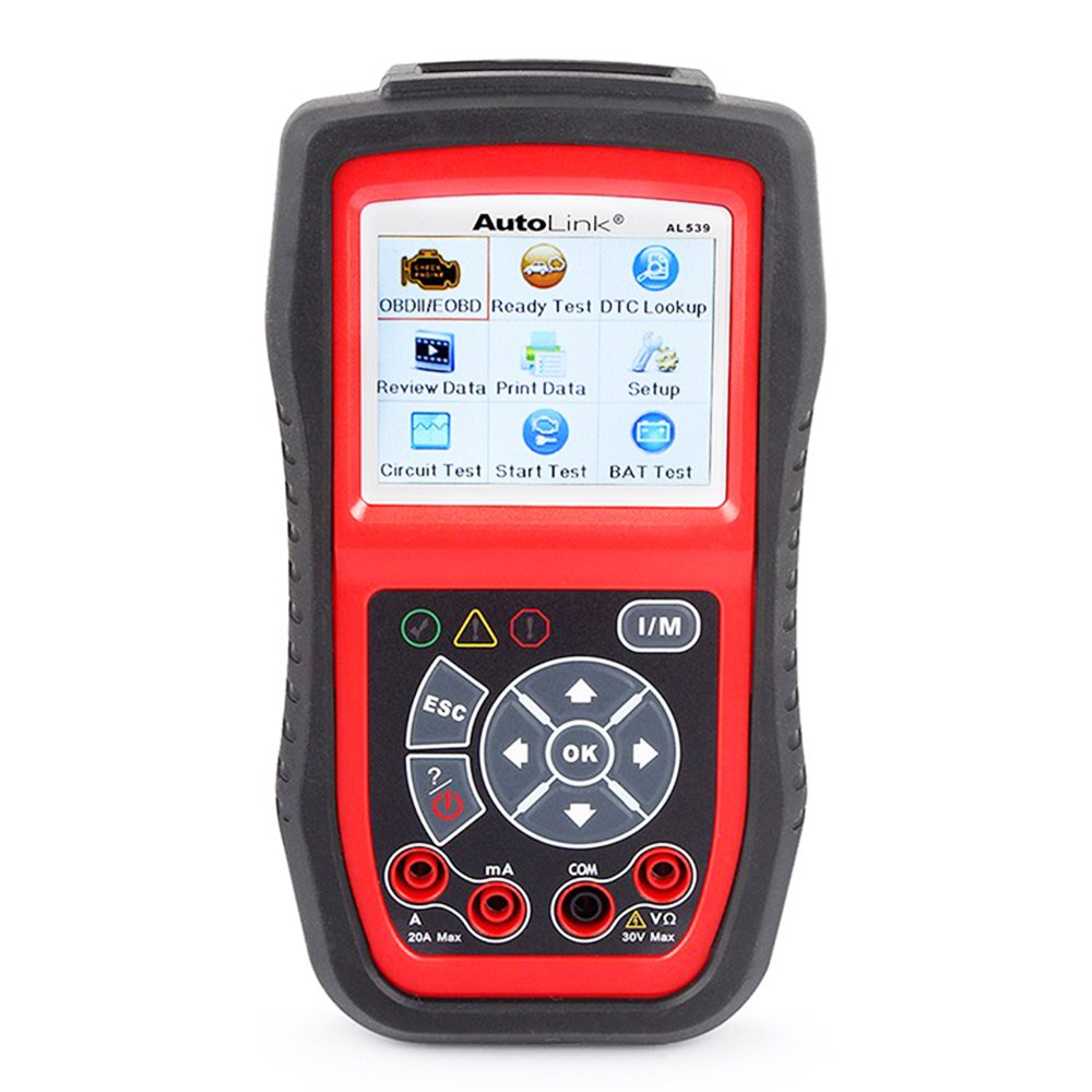 AutoLink AL539B Autel OBDII Code Reader & Electrical Battery Test Car Scan Tool