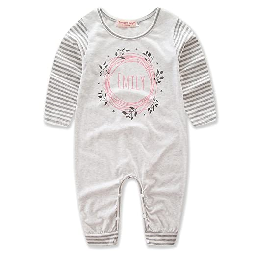 efe03dbc3 Samgami Baby Boys Stripe Long Sleeve Jumpsuit Toddler Newborn Cotton Rompers  Kids Clothing (Tag: