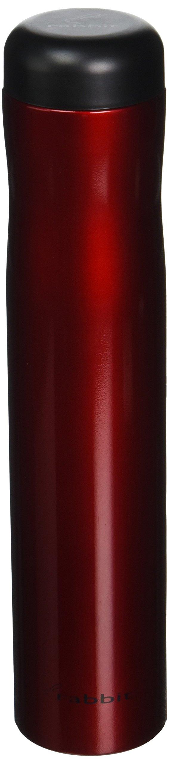Rabbit Automatic Electric Corkscrew Wine Bottle Opener (Metallic Red)