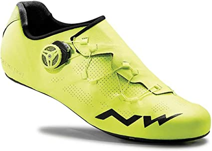 NORTHWAVE Man road cycling shoes EXTREME RR fluo yellow