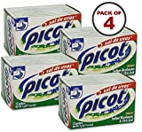 Picot 5 Gram Packets Sal De Uvas 12 Count, Pack of 4