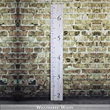 Back40Life Wooden Kids Growth Chart Ruler for