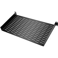 Neewer Vented Universal Rack Tray Shelf for 19″ Server Racks, with Bottom Slots for Mounting Non-Rack and Half-Rack Equipment