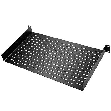 Neewer 1U Universal Bandeja Rack con diseño de ventilación Conveniente para el Estudio y instalacion Permanente
