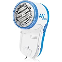 AW Union Fabric Shaver Lint Shaver, Electric USB Powered Corded Sweater Shaver, Efficiently Remove Lint Pill and Bubble for Fabric, Clothes, Upholstery (1.2m/4ft Wire)