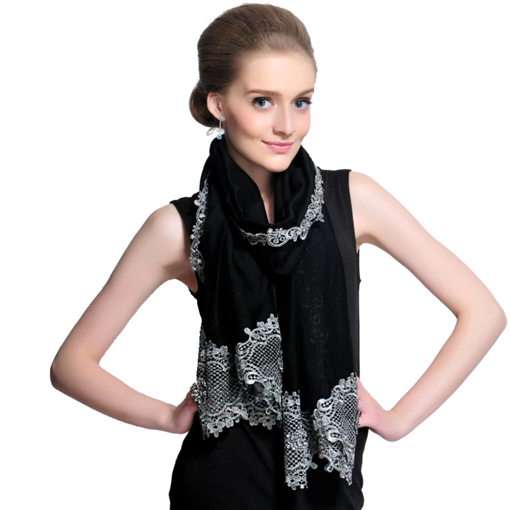 Fashion Scarves/Shawl/ lace long/Ladies fashion scarves for fall/winter-B One Size