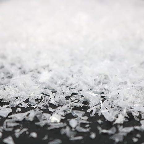 Com Four Kristallschnee Zum Dekorieren Und Basteln Kunstschnee Als Weihnachtsdeko Winter Deko Mit Künstlichem Schnee 01 Stück