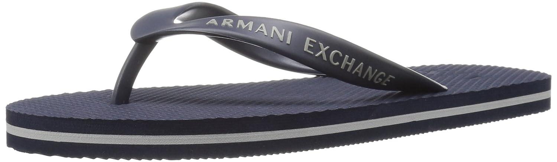 A X Armani Exchange Men's Solid Flip Flop A|X Armani Exchange
