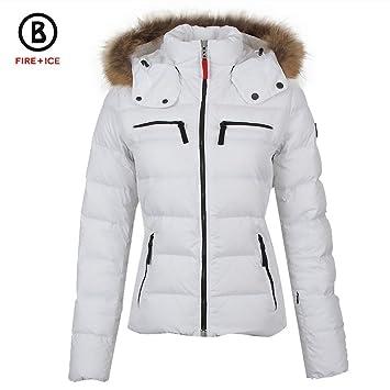 Fireamp; D Ice Damen Weiss 44xl Lela Skijacke rQBWexdCo
