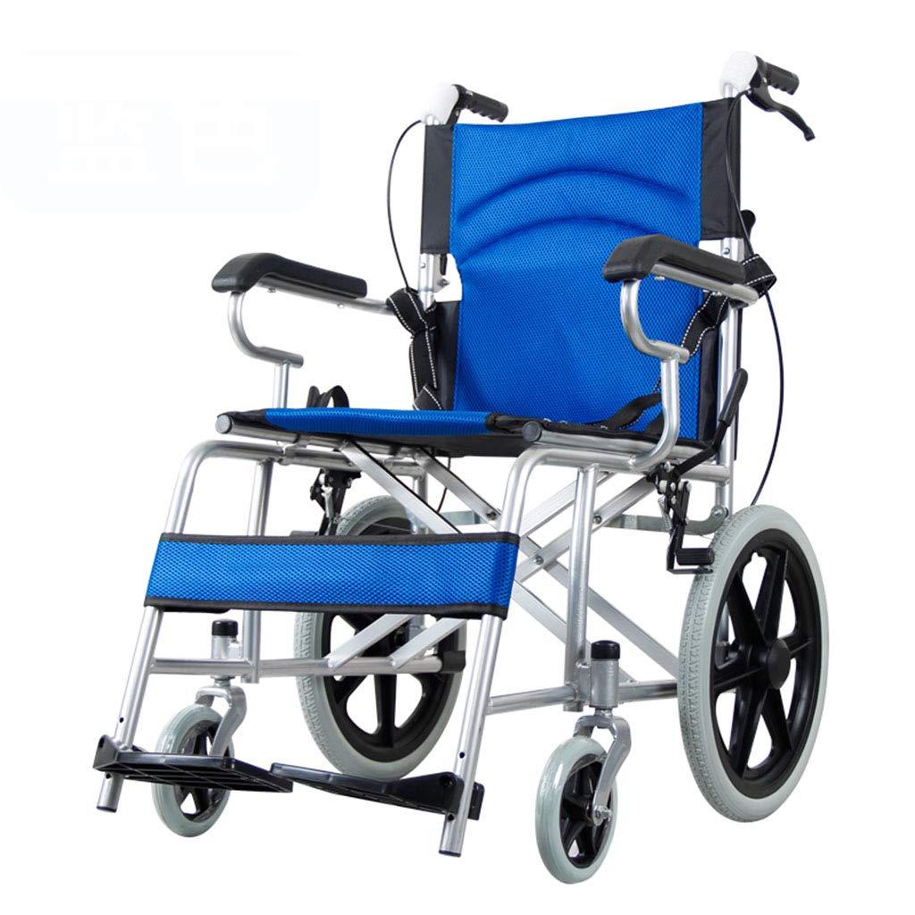 【再入荷!】 自走用車いす 車椅子トラベルチェア折り畳み式スクーター Blue ホーム障害者用ポータブル車椅子 屋外超軽量オールドトラベルトロリー 積載重量100kg 最高ギフト Blue, 自走用車いす (Color : (Color Blue, Size : 59*80*88cm) 59*80*88cm Blue B07M8STB8W, G-SHOCK専門店 わっしょい村JAPAN:8c396d39 --- a0267596.xsph.ru