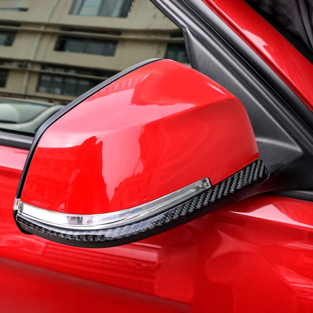 2012-2020 Festnight Specchietto retrovisore in Fibra di Carbonio Adesivi Strisce Anti-sfregamento 2 PZ Strisce Anti-collisione per Auto Accessori Styling Auto per BMW F30 F31 F32 F33 F34