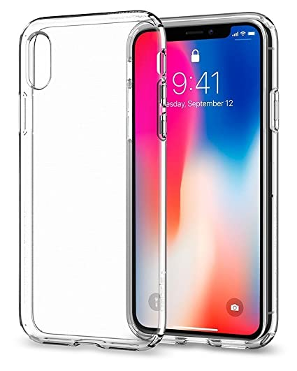 newest 0f68f d8832 Plus Crystal Clear Ultra Thin Transparent Soft Jelly Flexible Back Cover  For Apple iPhone X