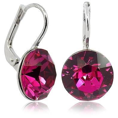 Ohrringe  Ohrringe mit Kristallen von Swarovski® für Damen - Viele Farben ...