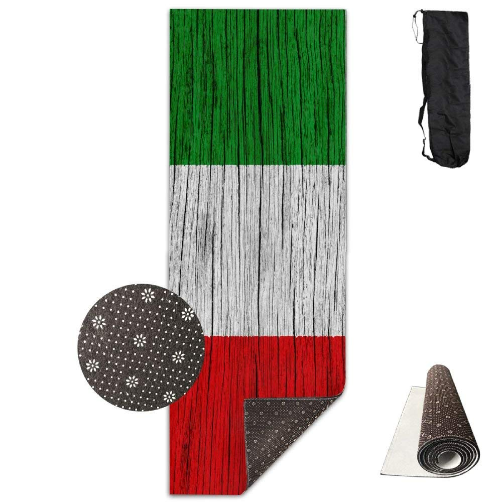 Amazon.com: Italy Wooden Texture Italian Flag ECO Aqua Power ...