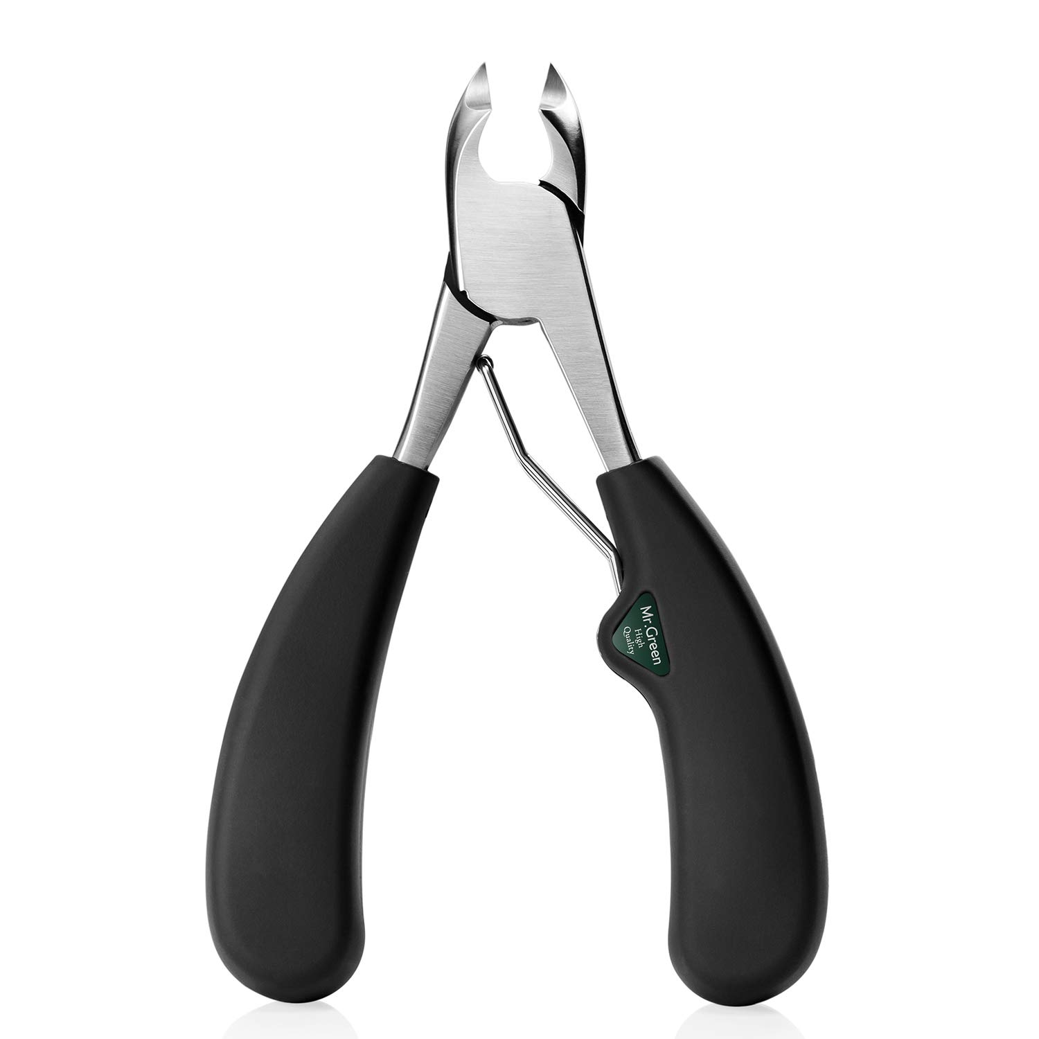 Mr.Green Precision Toenail Clippers for Thick or Ingrown Toenails, Heavy Duty Stainless Steel Cuticle Trimmer, Fingernail Clipper for Seniors by MrGreen