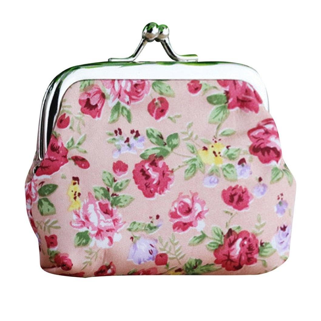 Amazon Wallet Sukeq Women Girls Vintage Flower Small Wallet