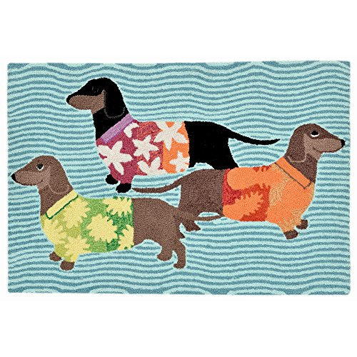 Liora Manne FT023A55544 Whimsy Island Fun Rug, Indoor/Outdoor, Scatter Size, Multicolored by Liora Manne