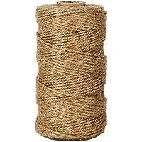 Lumanuby 1 rollo de cordel de yute natural