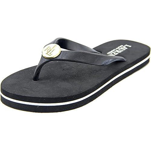 Lauren Ralph Lauren Elissa Ii flip-flop: Polo Ralph Lauren: Amazon.es: Zapatos y complementos