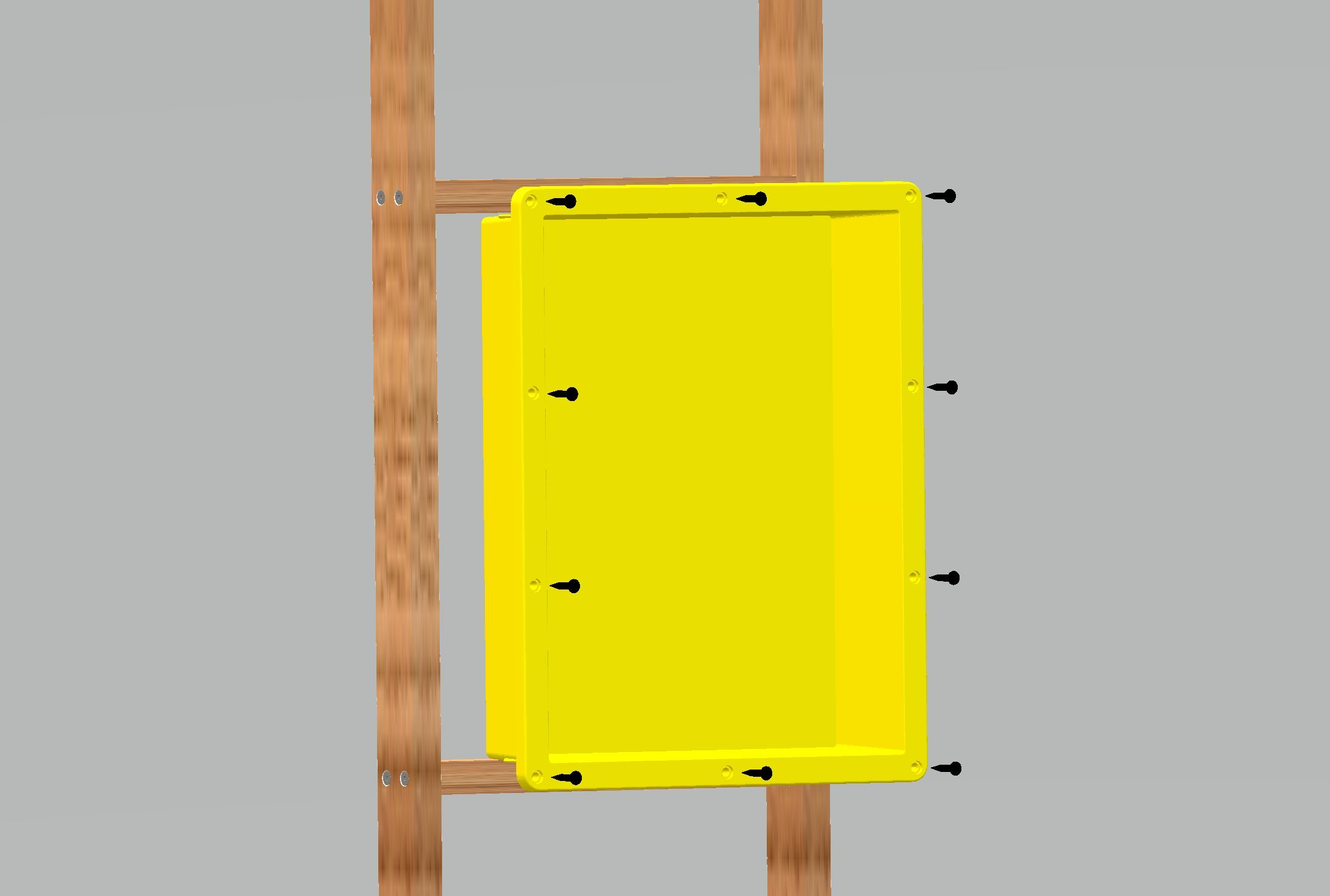 Uni-Green UGSN1414 Square Shower Niche 14'' ×14'' × 4'' by Uni-Green