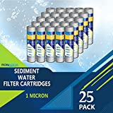 water filter 25 micron - Pack of 25-1 micron 10