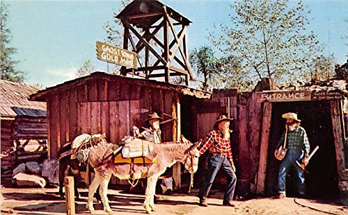 rance, Ghost Town Knott's Berry Farm, Buena Park, California, CA, USA Postcard Post Card (Farm Entrance)