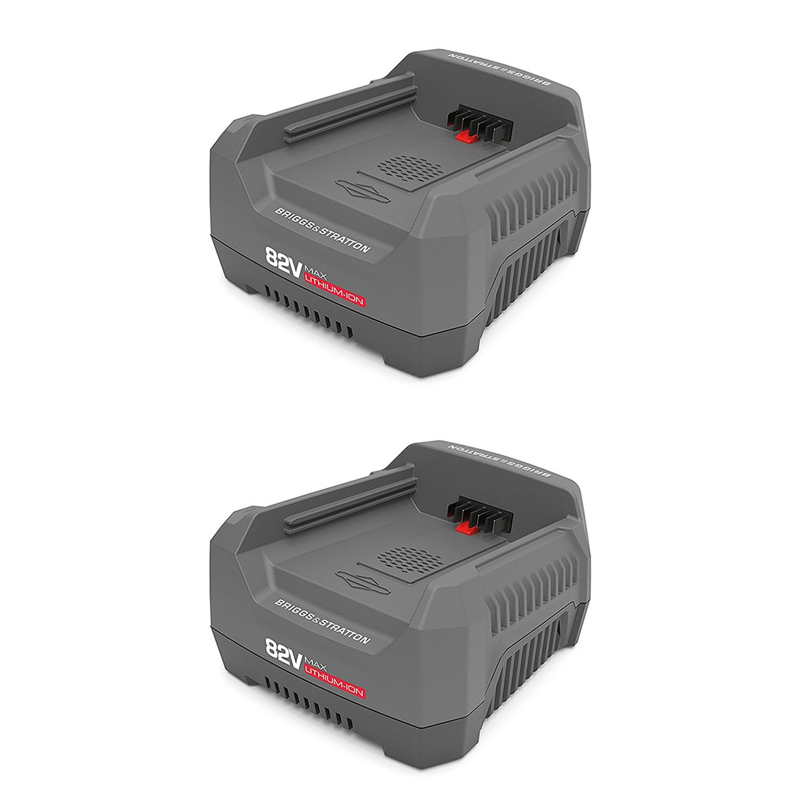 Snapper 82V Lithium-Ion Rapid Battery Charger for XD Cordless Tools (2 Pack)