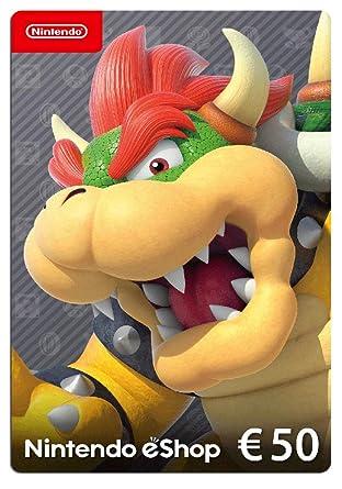 Nintendo eShop Tarjeta de regalo 50 EUR - Código de descarga ...