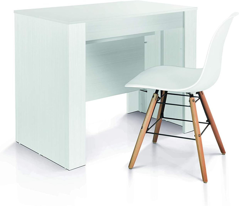 230 x 90 cm Rovere Nodato 50 x 90 cm Legno,Metallo Fashion Commerce Consolle FC1653