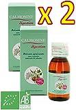 LAUDAVIE Calmosine - CALMOSINE digestion - Boisson apaisante et digestive aux extraits de plantes BIO - Lot de 2 x 100 ml
