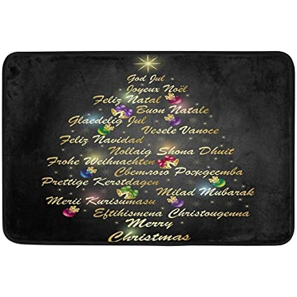 Merry Christmas Different Languages.Amazon Com Starohou Tree Merry Christmas Different
