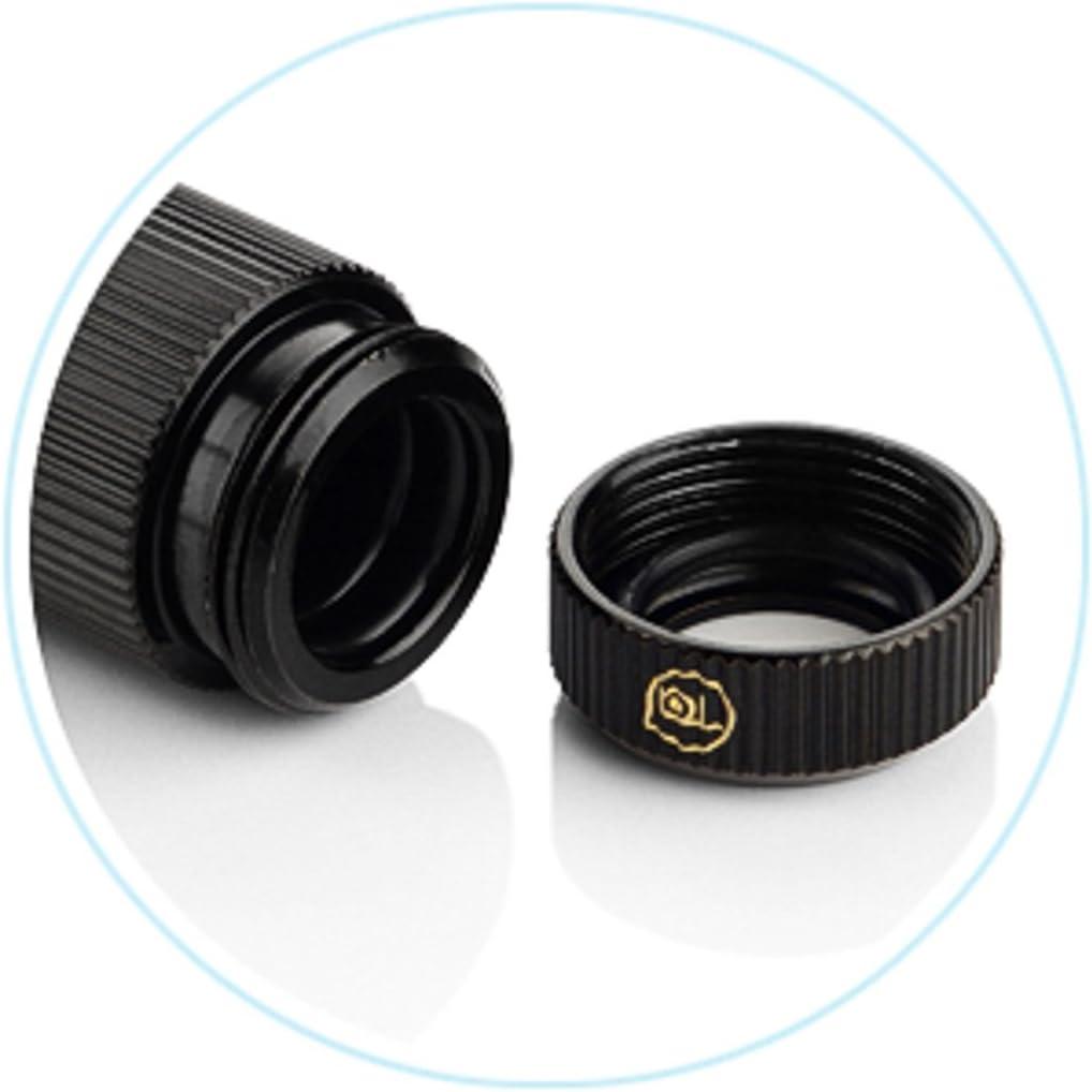 TA-IGFALP4169-GB Glorius Black 4 inch Female Adjustable Link Pipe 41-69mm Touchaqua Inner G1