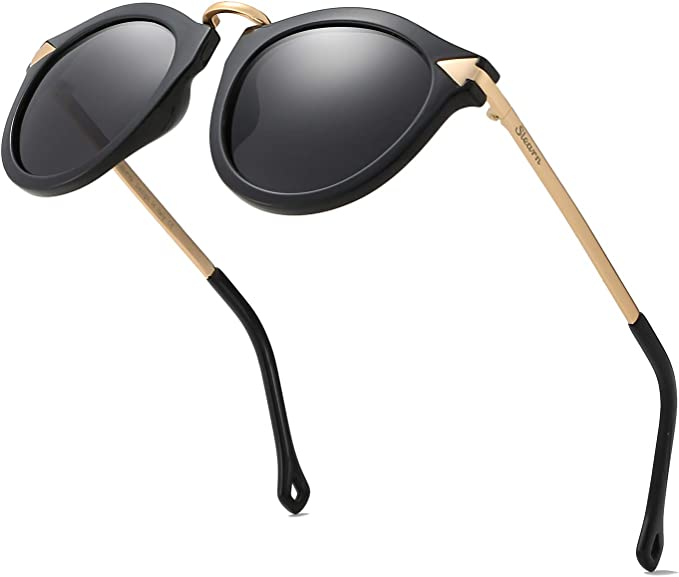 Cat Eye Fashion Modern UV Oversized Womens Sunglasses Metal Frame Pink Tint
