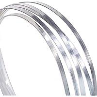 "Bezel Wire Cloisonne Strip .999 Silver Flat 24 Inch Coil .050"" X .004"" Half-Hard"