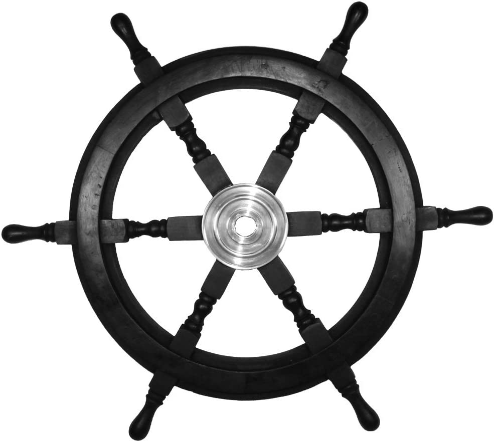 Nautical Black and Silver 25