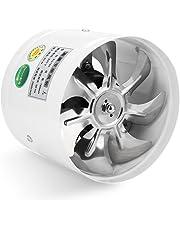 Ventilador de pared con ventilación redonda, ventilador de escape, bajo nivel de ruido para