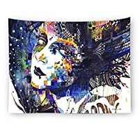 """D C.Supernice Abstract Pattern Tapestry Wall Hanging Magical Thinking Art Tapestry Home Decor 90.6""""x59.1"""""""