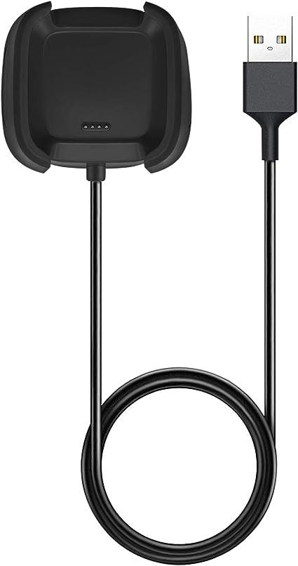 USB Ladekabel für Fitbit Versa 2 Fitness Sport Tracker Smartwatch Ladegerät