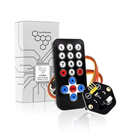Amazon com : Dig Dog Bone LDTR-RM045 Infrared IR Wireless Remote