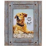 PRINZ Homestead Marco de madera envejecida, 5 x 7, color Gris