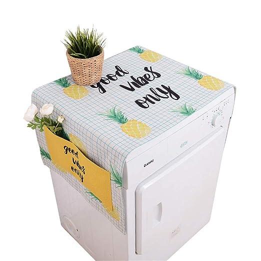 Lavadora cubierta Refrigerador Lavadora Multifunción ...