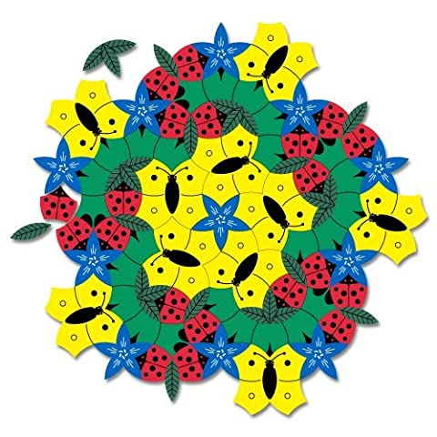 In the Garden Tessellation Puzzle - Magnetic Tiling Toy