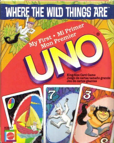 Where The Wild Things Are UNO Cards