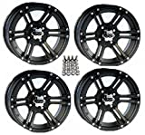 ITP SS212 ATV Wheels/Rims Black 14'' Honda Foreman Rancher SRA