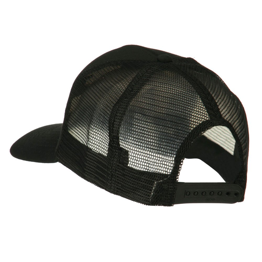 b9ae0ff47da E4hats Chief Engineer Embroidered Twill Mesh Cap - Black OSFM at Amazon  Men s Clothing store