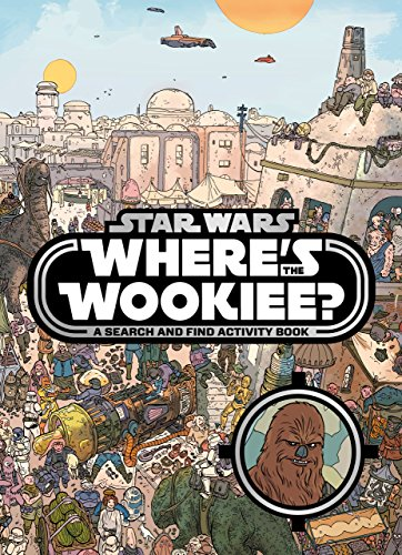 - Star Wars Where's the Wookiee Search and Find Book